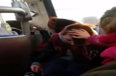 heroin mom on bus with daughter