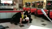 Man FIghts 2 Cops While Being Tasered