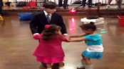 little girl gets jealous of girl dancing with boy