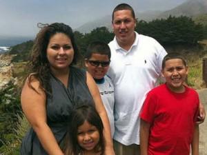 David Barajas family