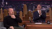 Jimmy Fallon Laughing and Clapping