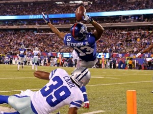 Odell-Beckham one handed catch NYGvsDal