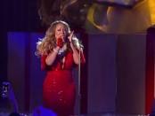 Mariah Carey Christmas at Rockefeller Center (Live Mic Feed)