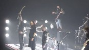 Korn and Slipknot performing Sabotage by The Beastie Boys at Wembley Arena