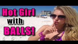 Hot Girl with Balls Prank - Spring Break 2015