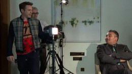 RDJ walks out on interview