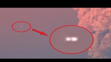 chile volcano ufo